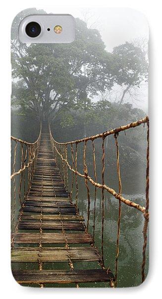 Dawn iPhone 7 Case - Jungle Journey 2 by Skip Nall
