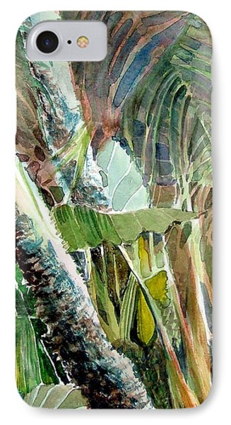 Jungle Light Phone Case by Mindy Newman