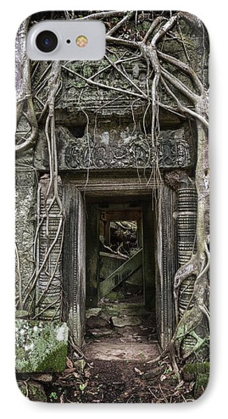 Jungle Temple Door #1 IPhone Case
