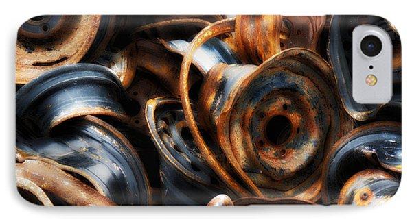 Junk Yard Beauty Phone Case by Heather Kertzer