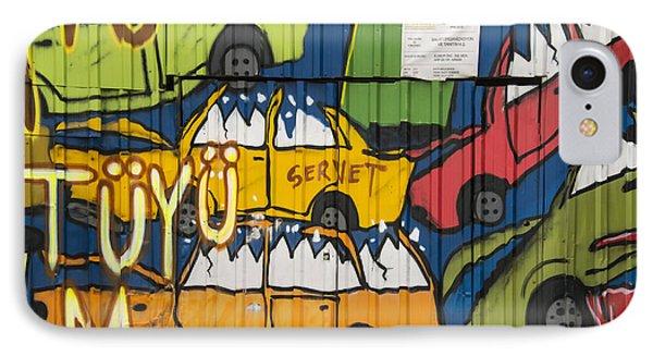 Junkyard Art IPhone Case by Bob Phillips