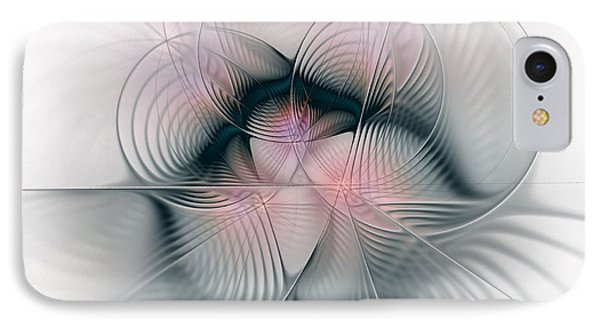 Junos Mercy - Fractal Art IPhone Case by NirvanaBlues