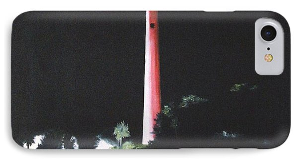 Jupiter Lighthouse At Night IPhone Case