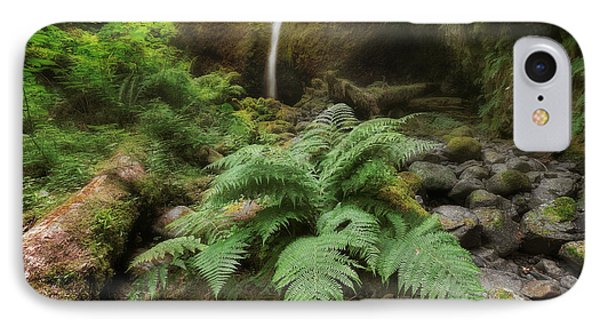 Jurassic Forest Phone Case by David Gn