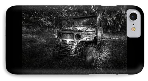 Jurassic Four Wheeler IPhone Case by Marvin Spates