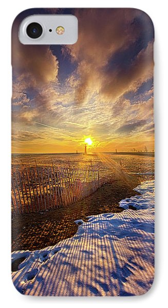 IPhone Case featuring the photograph Just A Bit More To Go by Phil Koch