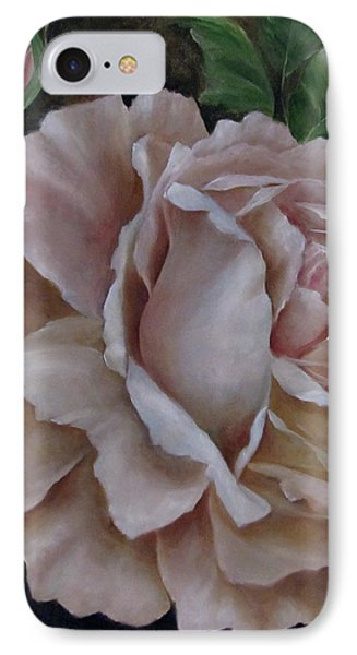 Just A Rose IPhone Case by Katia Aho