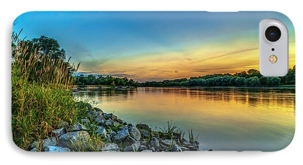 Just After Sun Went Down IPhone Case by Julis Simo