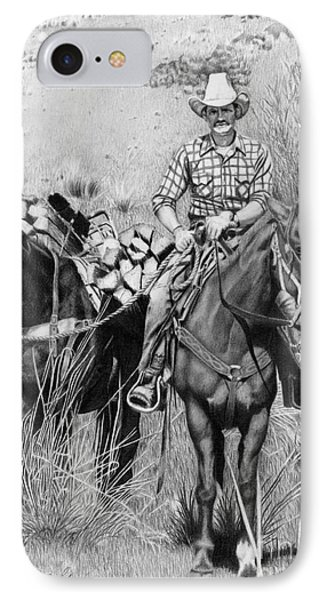 Just Another Western Workday IPhone Case