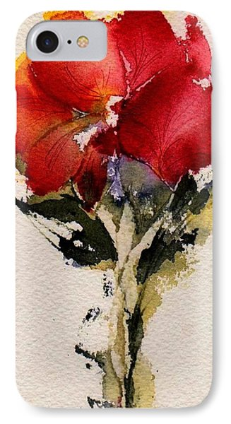 Just Bloomed IPhone Case by Anne Duke