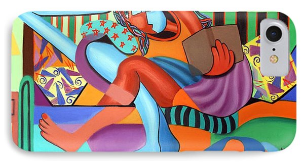 Just Chillin Phone Case by Anthony Falbo