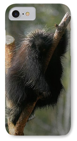 IPhone Case featuring the digital art Just Chillin by Ernie Echols
