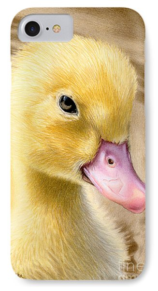Just Ducky IPhone Case by Sarah Batalka