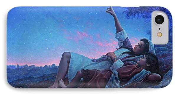 Planets iPhone 7 Case - Just For A Moment by Greg Olsen