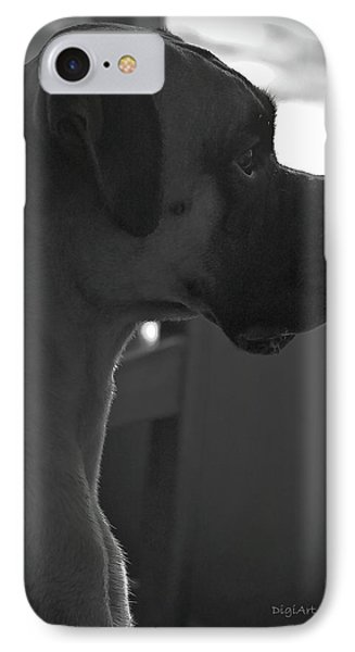 Just Handsome Phone Case by DigiArt Diaries by Vicky B Fuller