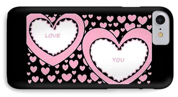 Just Hearts 2 IPhone Case