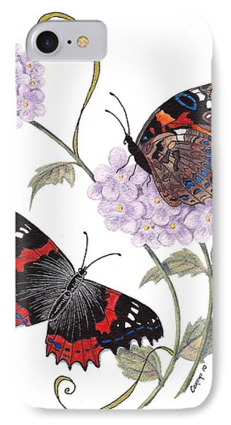 Just Living Is Not Enough IPhone Case by Stanza Widen