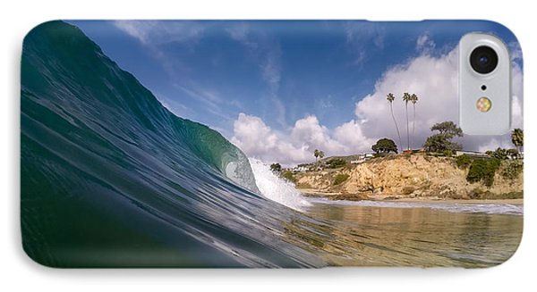 Just Me And The Waves IPhone Case by Sean Foster