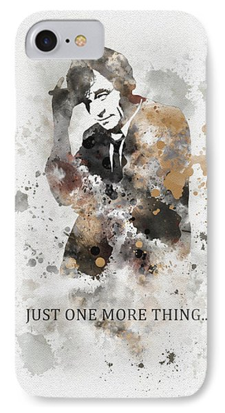 Just One More Thing... IPhone Case by Rebecca Jenkins