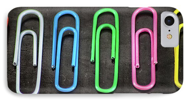 Just Paperclips IPhone Case by Martin Newman