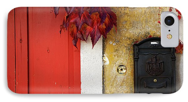 IPhone Case featuring the photograph Just Red by Yuri Santin