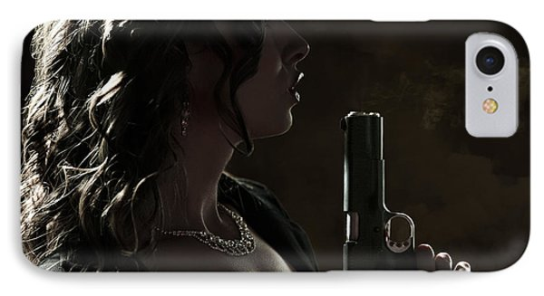 Just Shot That 45 IPhone Case by David Bazabal Studios