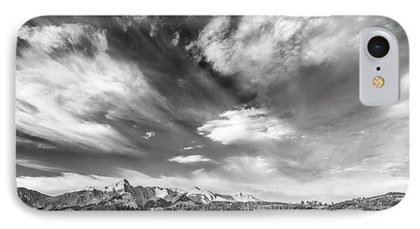 IPhone Case featuring the photograph Just The Clouds by Jon Glaser