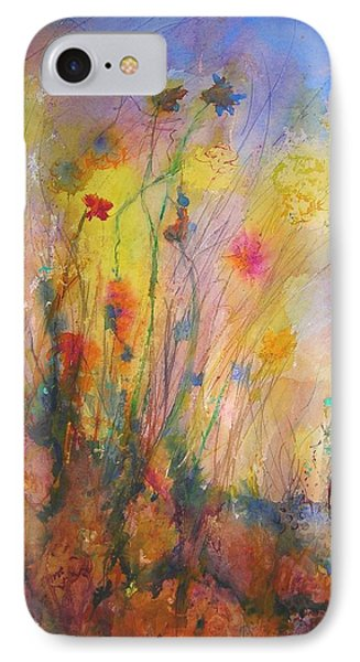 Just Weeds IPhone Case by Mary Schiros