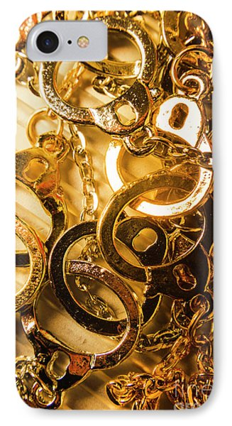 Punishment iPhone 7 Case - Justice Is Golden by Jorgo Photography - Wall Art Gallery