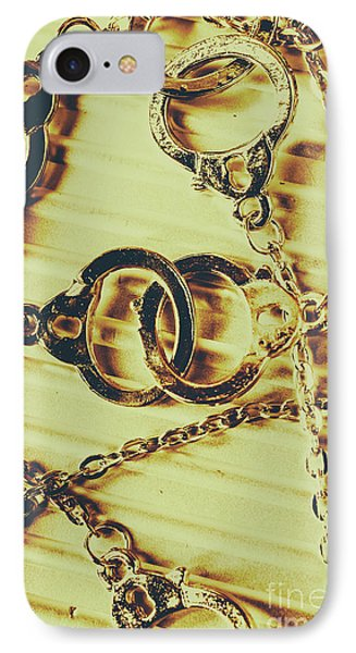 Punishment iPhone 7 Case - Justice Will Be Served by Jorgo Photography - Wall Art Gallery