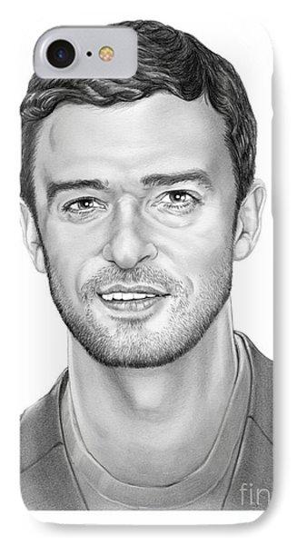 Justin Timberlake Phone Case by Murphy Elliott