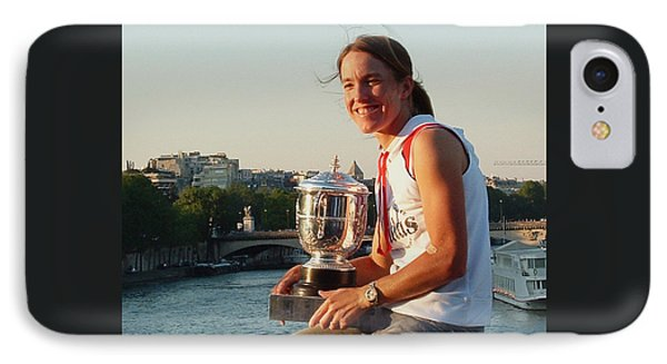Justine Henin IPhone Case