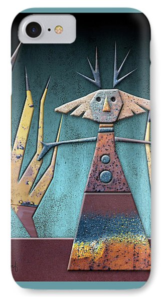 Justine The Goddess Of June Phone Case by Joan Ladendorf