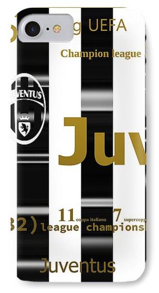 Juv Over Stripes IPhone Case by Alberto RuiZ
