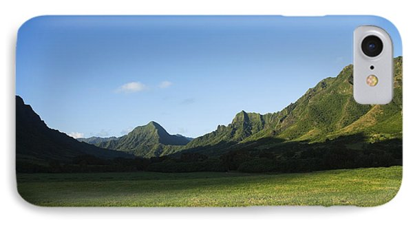 Kaaawa Valley Phone Case by Dana Edmunds - Printscapes