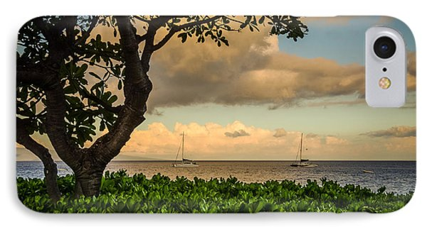 IPhone Case featuring the photograph Ka'anapali Plumeria Tree by Kelly Wade