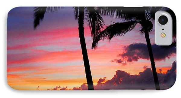 Kaanapali Sunset  Kaanapali  Maui Hawaii IPhone Case by Michael Bessler