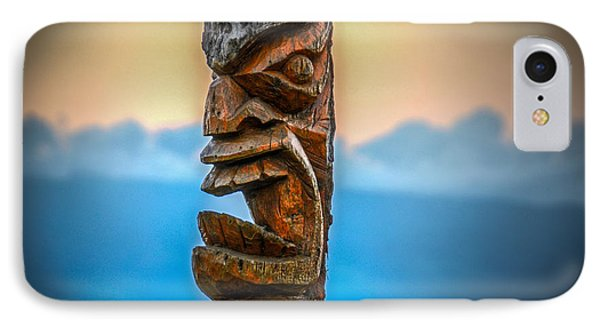 IPhone Case featuring the photograph Ka'anapali Tiki by Kelly Wade