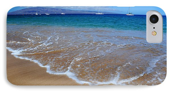 IPhone Case featuring the photograph Ka'anapali Waves by Kelly Wade