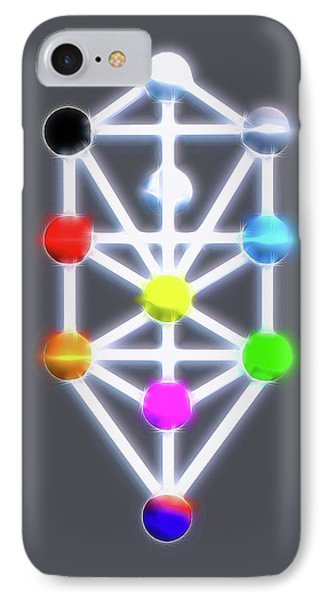 Kabbalah By Raphael Terra IPhone Case by Raphael Terra