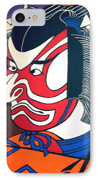 Kabuki Actor IPhone Case by Stephanie Moore