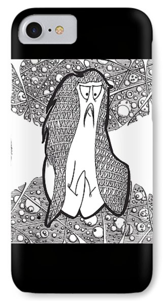 Kabuki Spaceghost IPhone Case by Uncle J's Monsters