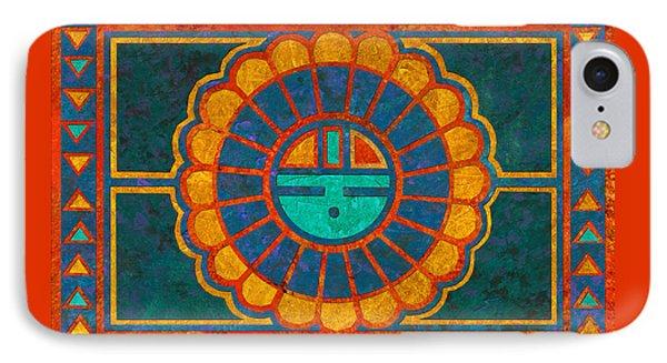 Kachina Sun Spirit Phone Case by Linda Henry