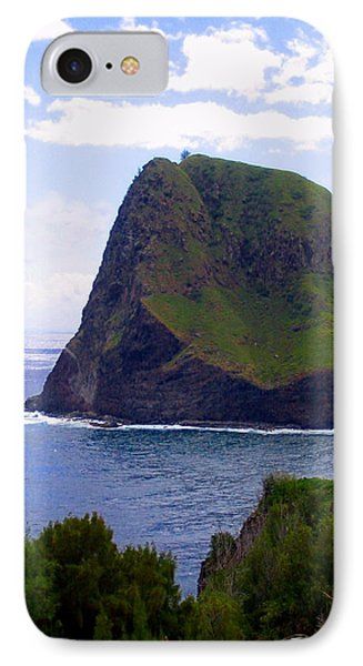 IPhone Case featuring the photograph Kahakuloa Point- Island Dreaming by Diane Merkle