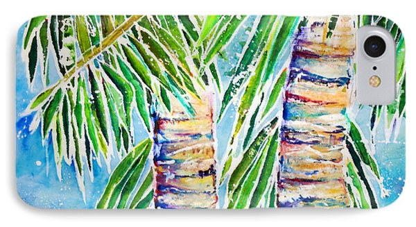 Kaimana Beach Phone Case by Julie Kerns Schaper - Printscapes