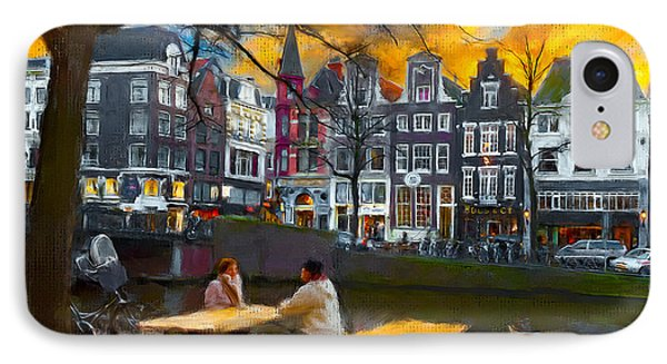 IPhone Case featuring the photograph Kaizersgracht 451. Amsterdam by Juan Carlos Ferro Duque