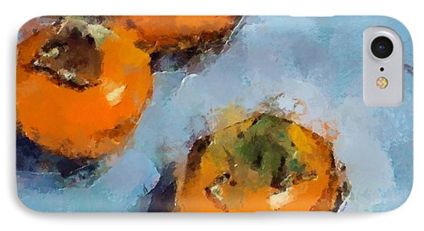 IPhone Case featuring the painting Kaki by Dragica  Micki Fortuna
