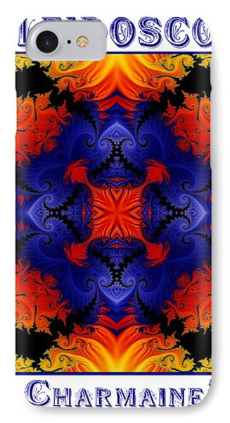 IPhone Case featuring the digital art Kaleidoscope 1 by Charmaine Zoe