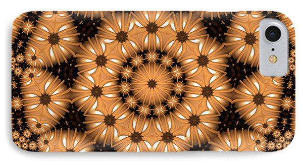 IPhone Case featuring the digital art Kaleidoscope 131 by Ron Bissett