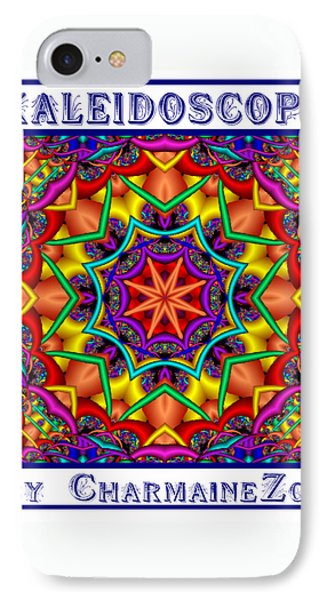 IPhone Case featuring the digital art Kaleidoscope 2 by Charmaine Zoe